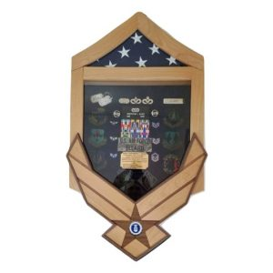 Air Force Challenge Shadow Box