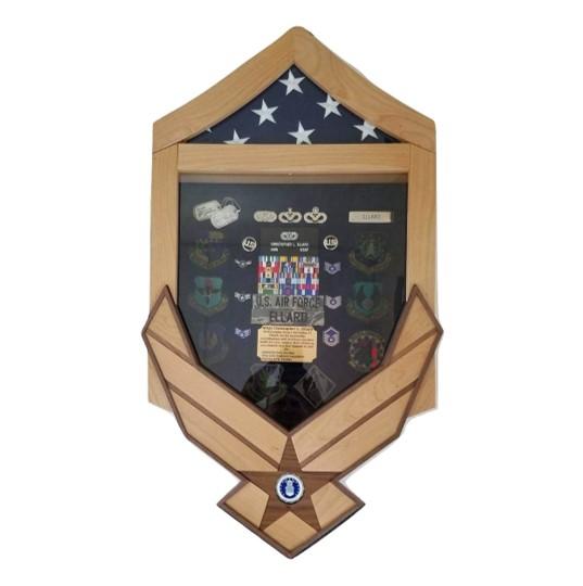 Air Force Challenge Shadow Box