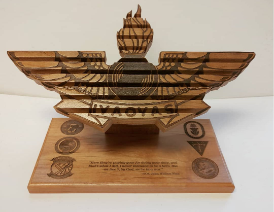 Challenge Coin Holder Logo