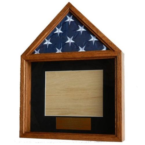 Wooden Flag Display
