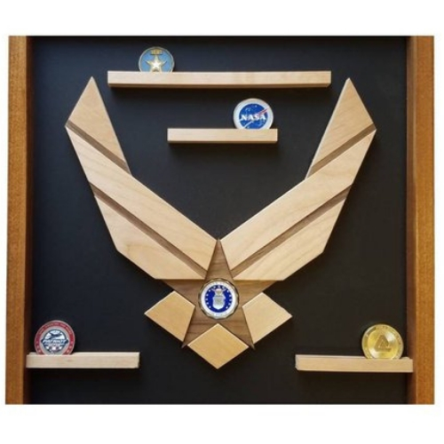 Air Force Coin Display