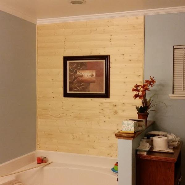 Custom Wood Wall