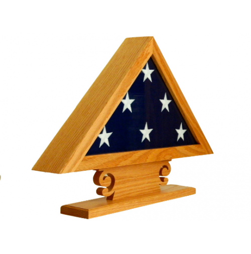 Wooden Flag Display